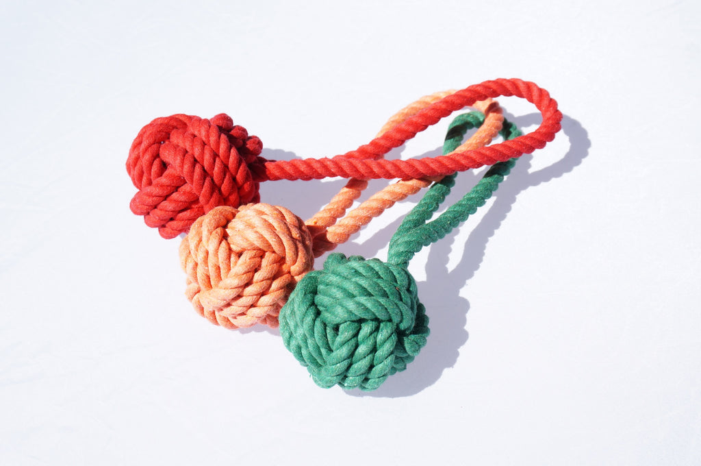 Tug+Toss Rope Toy Set of 3 - The Farting Dog Company