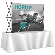 Fabric Graphic Table Top Pop Up Displays