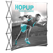 8 Ft. Fabric Graphic Pop Up Displays