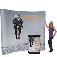 10' x 10' Coyote Pop Up Replacement Graphics