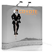 10' x 8' Coyote Pop Up Replacement Graphics