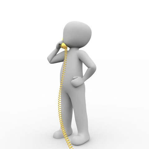 Person calling on phone - last minute things you can do