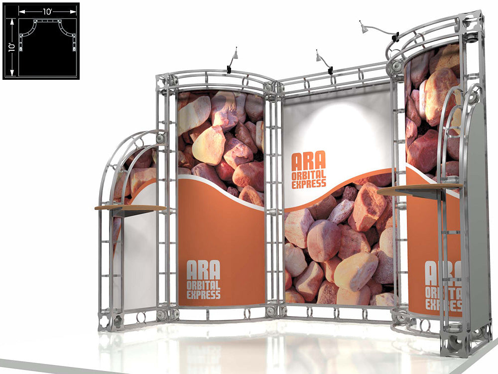 Ara Express 10' x 10' Truss Trade Show Display Booth