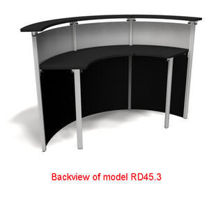 Exhibitline RD45.2 Trade Show Reception Desk Counter - Product View