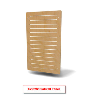 XV.SW Slatwall Display Panel - Product View 2