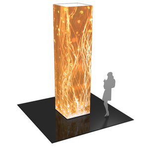Formulate 12 Ft. Four Sided Tower Display