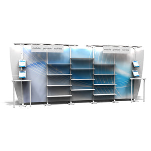 EX.1020.4 Exhibitline 10' x 20' Trade Show Display Package