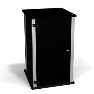 Exhibitline LC2 Trade Show Locking Cabinet Counter