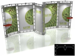 Electra Express 10' x 20' Truss Trade Show Display Booth