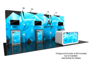 Hybrid Pro Modular Trade Show Exhibit Kit 14 - Up Close