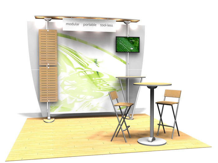 10.10 Exhibitline 10' x 10' Trade Show Display Package