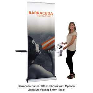 Barracuda Retractable Banner Stand