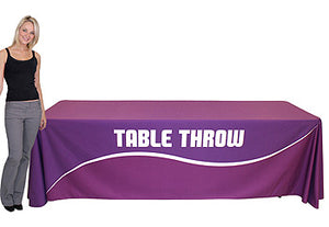 8 Foot Full Table Throw