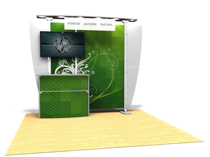 10.11 Exhibitline 10' x 10' Trade Show Display Package