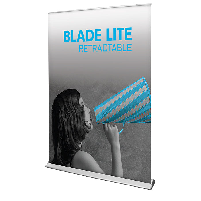 Blade Lite 1500 Banner Stand - Up Close