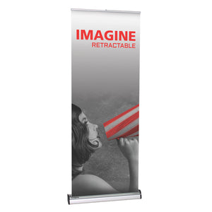 Imagine Banner Stand - Up Close