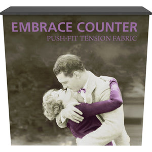 Embrace Convertible Trade Show Counter - Graphics Only