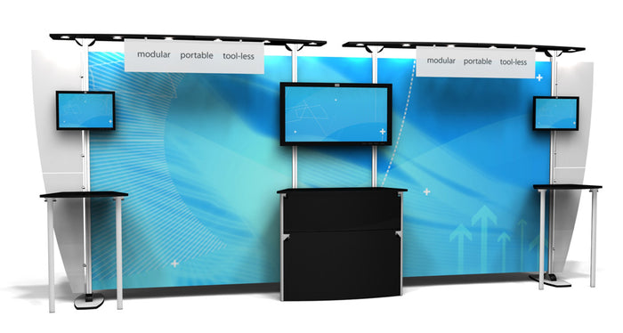EX.1020.3 Exhibitline 10' x 20' Trade Show Display