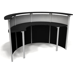 Exhibitline RD45.4 Trade Show Reception Desk Counter - Product View