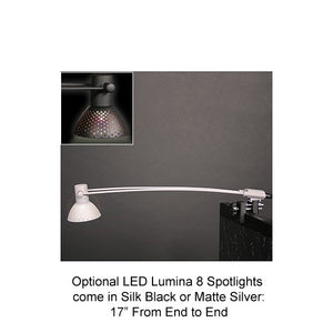 Formulate Essential Table Top Straight Display - Lumina 8 Spotlight
