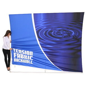 Formulate VC4 10' x 10' Vertically Curved Trade Show Display  - Product Assembly - Stage 3