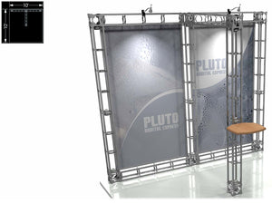Pluto Express 10' x 10' Truss Trade Show Display Booth