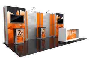 Hybrid Pro Modular Trade Show Exhibit Kit 16  - Product View 4