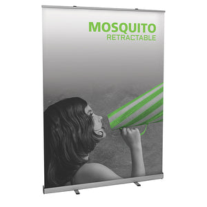 Mosquito 1500 Banner Stand - Up Close