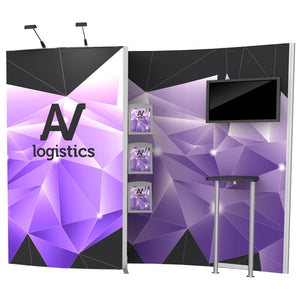 Hybrid Pro Modular Trade Show Exhibit Kit 02 - Product View 2