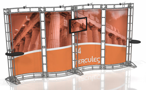Hercules 10' x 20' Truss Display - Kit 14 - Replacement Graphics Package