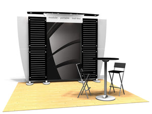 10.12 Exhibitline 10' x 10' Trade Show Display Package