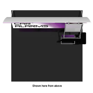 Formulate VC9 10' x 10' Vertically Curved Trade Show Display - Product View 3