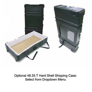 ex.plasma.1 Monitor Display Stand - Optional Shipping Case