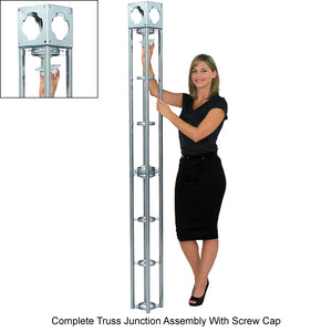 Cassiopeia Orbital Express 20' x 20' Truss Trade Show Display Booth - Product Assembly 5