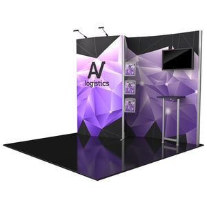 Hybrid Pro Modular Trade Show Exhibit Kit 02 - Product View 11