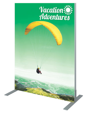 "Vector Frame Banner Display 01 (Rectangle) – 36.3"" W X 47.49"" H - Up Close"