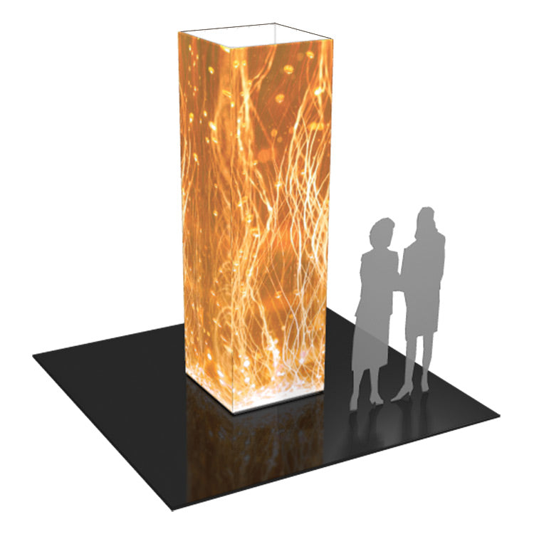 Formulate 10 Ft. Four Sided Tower Display