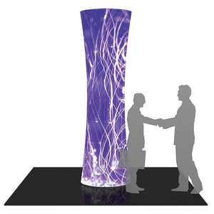 Formulate 10 Ft. Cylinder Tower Display - Product View 1
