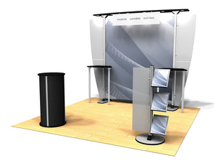 10.03 Exhibitline 10' x 10' Trade Show Display Package