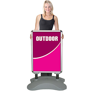 Whirlwind Outdoor Sidewalk Sign System