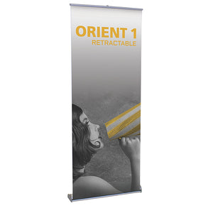 Orient 800 Banner Stand - Up Close