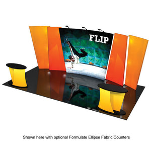 Formulate Flip-01 10' x 20' Trade Show Exhibit - Product View 3
