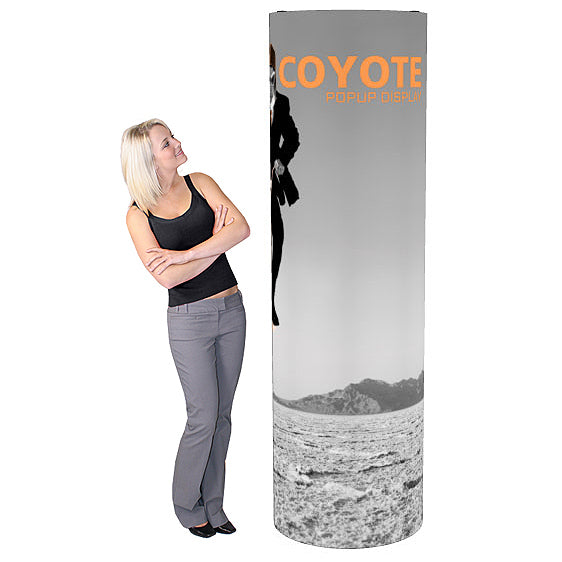 Coyote Tower Pop Up Display Kit