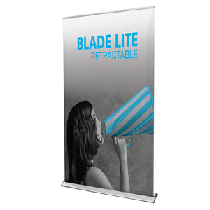 Blade Lite 1200 Banner Stand - Up Close