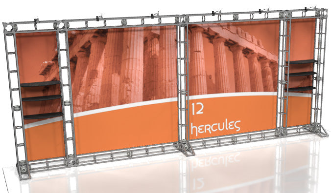 Hercules 10' x 20' Truss Display - Kit 12 - Replacement Graphics Package