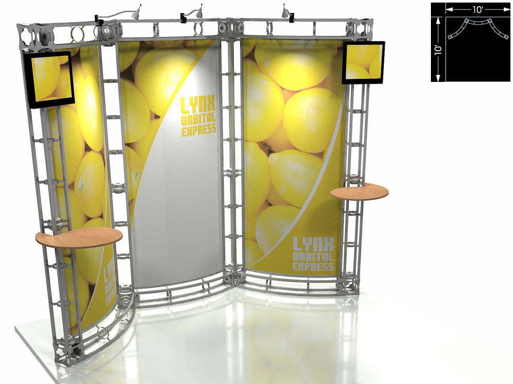 Lynx Express 10' x 10' Truss Trade Show Display Booth