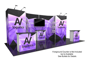 Hybrid Pro Modular Trade Show Exhibit Kit 10 - Up Close