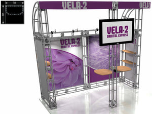 Vela Express 10' x 10' Truss Trade Show Display Booth
