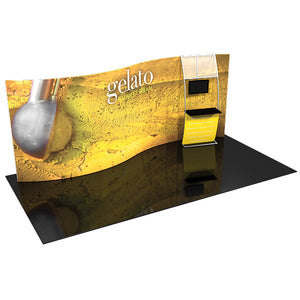 Formulate SC2 10' x 20' Serpentine Curved Trade Show Display - Product View