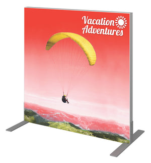 "Vector Frame Banner Display 01 (Square) – 36.3"" W X 35.68"" H - Up Close"